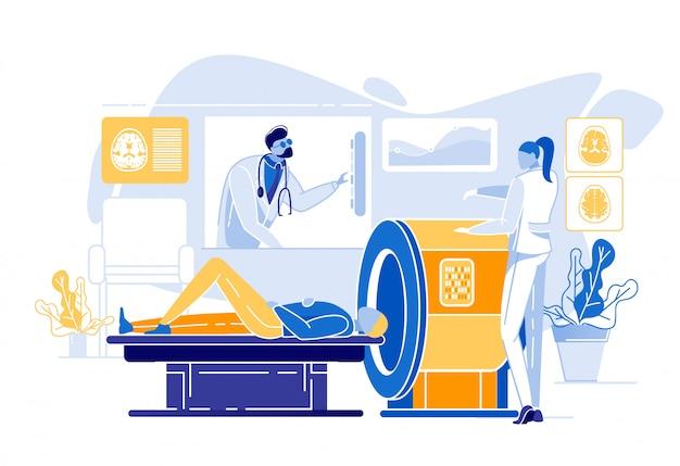 広告バナー磁気共鳴イメージング