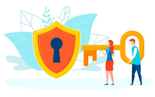 ハッキングパスワードフラット