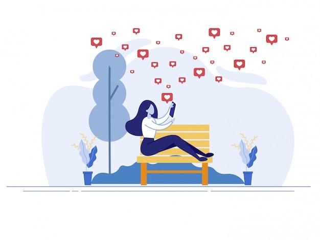 Общение и романтические отношения онлайн