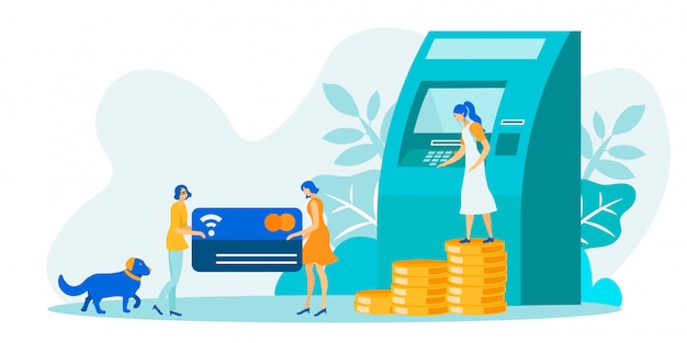 Финансовые операции с использованием банкомата