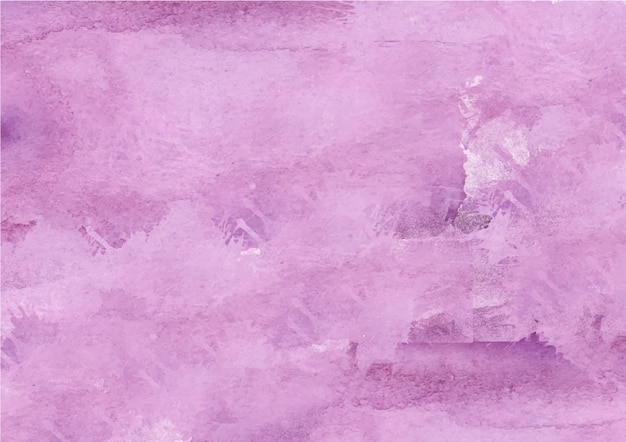 カラフルな抽象的な紫色の水彩画の背景