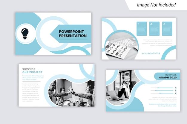 企業のビジネスプレゼンテーションテンプレートデザイン
