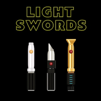 Светлые мечи будущего.