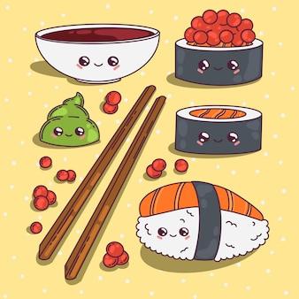 かわいい寿司