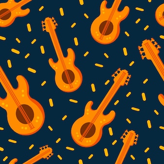 ジャズの背景ジャズ飾りシンプルなパターン