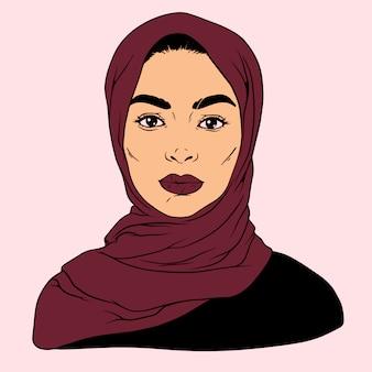 イスラム教徒の少女ラマダン