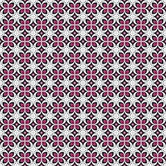 バティックのシームレスパターン