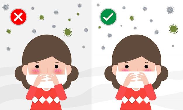 Как носить хирургическую маску для защиты от мелкой пыли