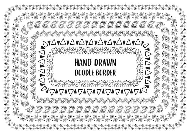 Набор рисованной каракули