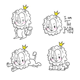 かわいい虎漫画