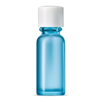 青いガラス瓶