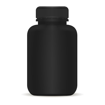 プラスチック製の薬瓶