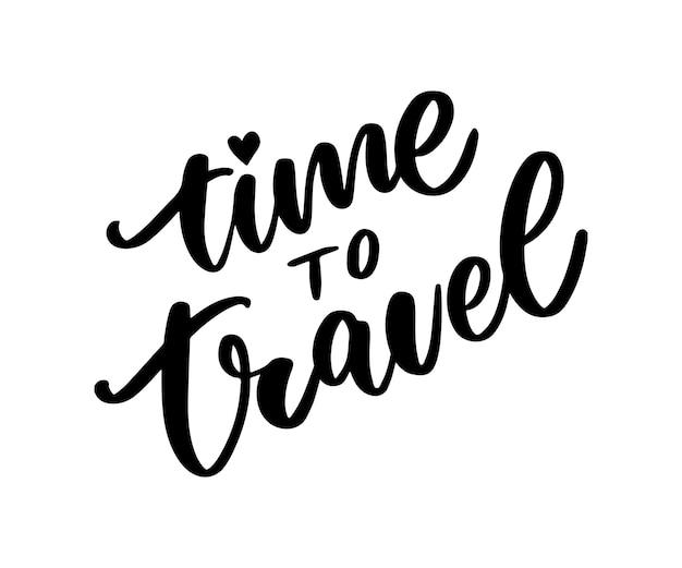 旅行ライフスタイルのインスピレーション引用レタリング。