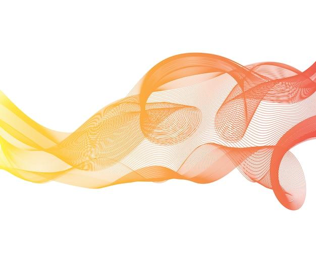 Элегантный скорость футуристический высокотехнологичный фон галочка волны потока