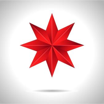 Золотая красная звезда