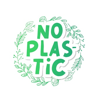 Пластиковые отходы векторная иллюстрация