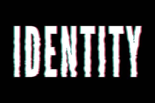Слоган идентичность фраза графика печать мода каллиграфия надписи