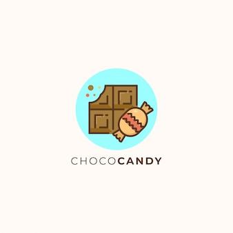 チョコレートとキャンディー