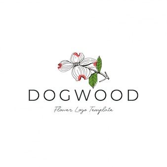花と花屋のロゴ