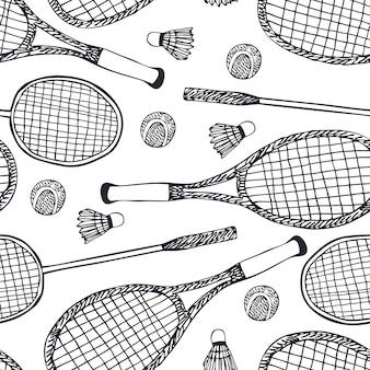 バドミントンとテニス