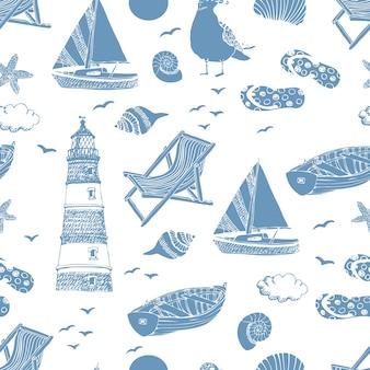 海のパターン