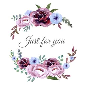 ユニークなカバーデコレーション、エキゾチックなストロークの花の花束