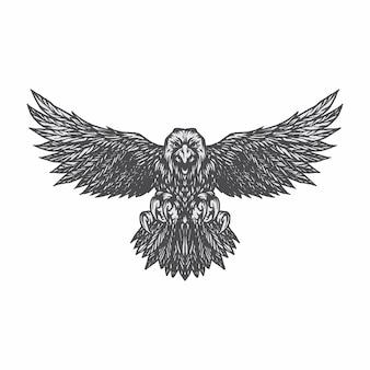 Орел иллюстрация