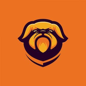 ブルドッグのロゴ