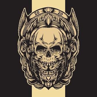 Старинный череп
