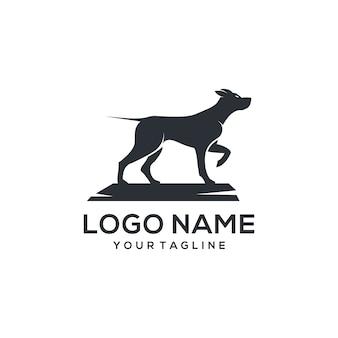 Собака логотип вектор