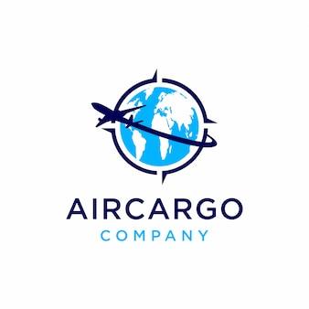 航空貨物のロゴデザインのインスピレーション