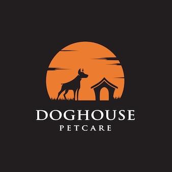 Логотип дом собаки
