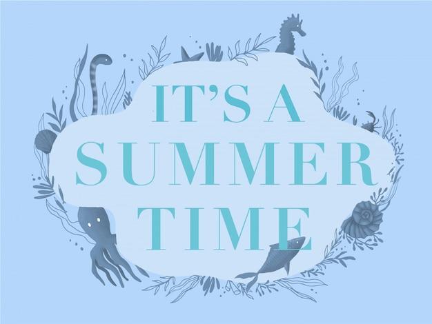 夏のバナーです