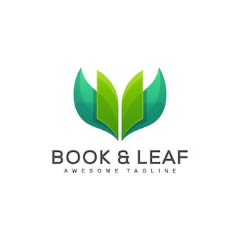 本の葉の概念図ベクトル