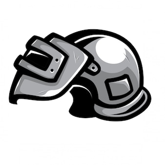 戦争ヘルメットベクトル