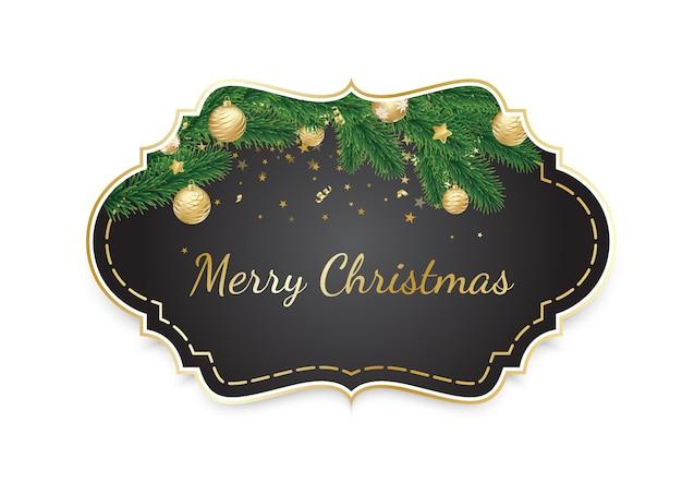 ビンテージクリスマスフレーム