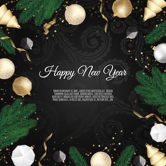 Рождественский фон, креативный дизайн поздравительных открыток, баннеров, плакатов,