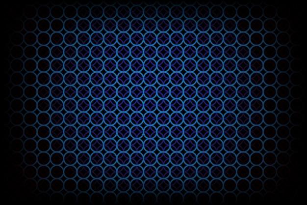 Темный фон с синим кружком