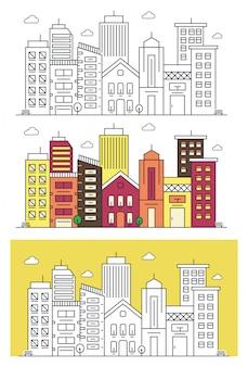 都市線のベクトル図