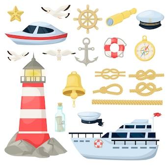 Морской дизайн темы
