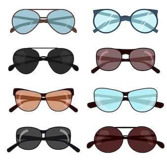 夏の日焼け防止用ファッションサングラス