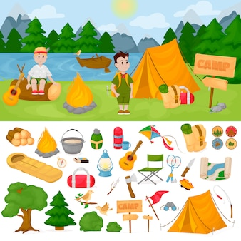キャンプチルドレンサマーキャンプパーク