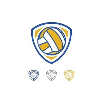 バレーボールチームのロゴ