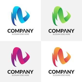 サンダーのロゴデザイン