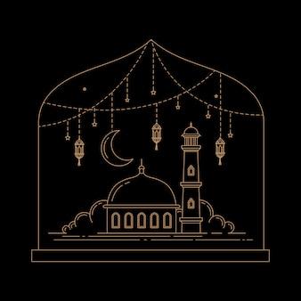 ラマダンのイスラムの祭典