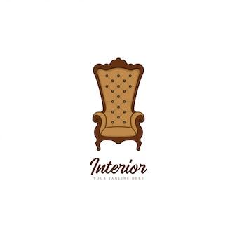 椅子の家具のロゴ
