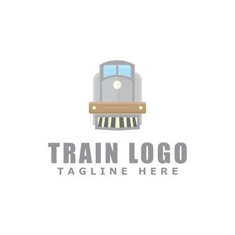 列車のロゴデザイン