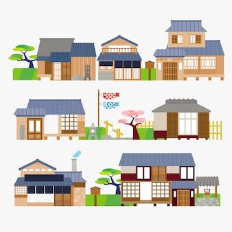伝統的な日本の家