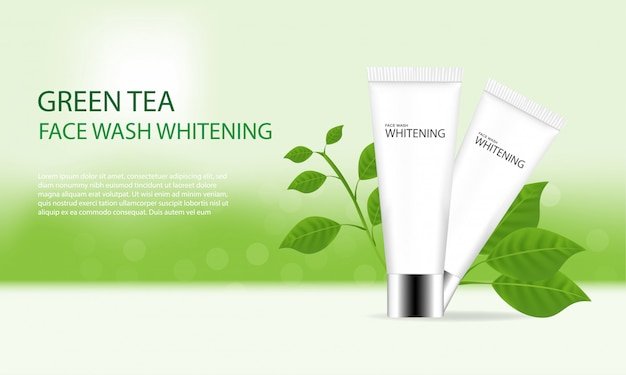 Реклама для мытья лица