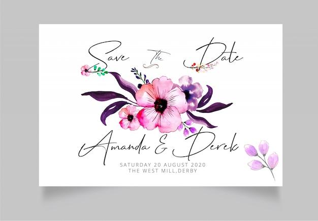 現代の結婚式は、日付カードを保存します